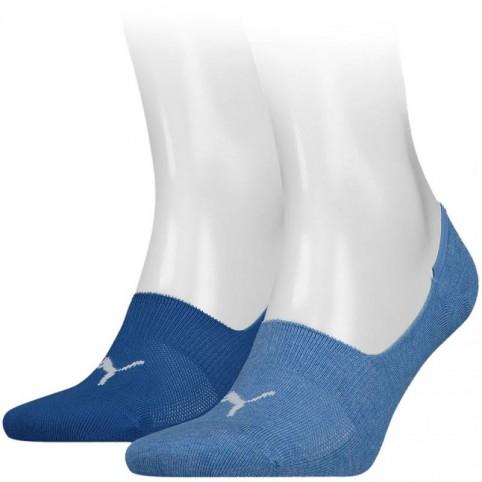 2 pairs Puma Footie Socks 906245 38