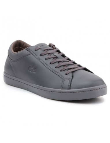 Lacoste Straightset 4 Srm Gry Leather M 30SRM4015