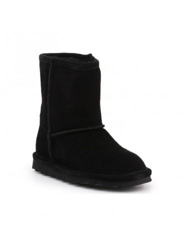 BearPaw Elle Toddler Zipper Black Jr 1962TZ-011 παπούτσια