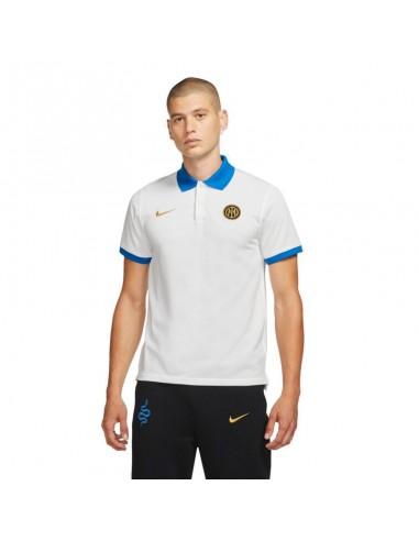 Nike Inter Milan Polo M CW5306-100 κοντομάνικο μπλουζάκι